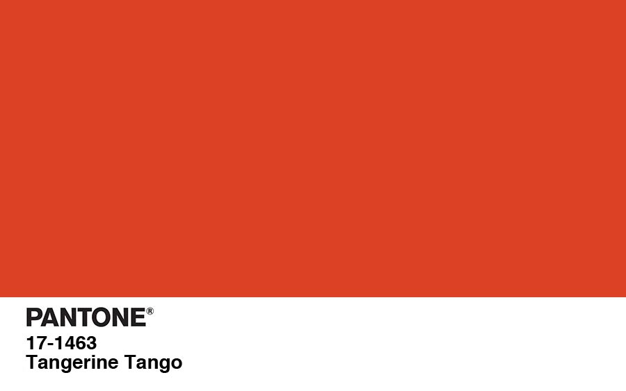 Pantone Color Of The Year For 2012 Tangerine