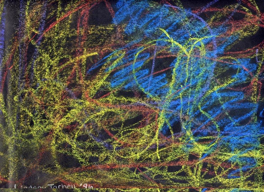 Chalk-drawing